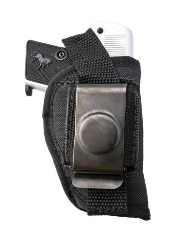 Outbags Ob-01L (Left) Nylon Iwb Conceal & Owb Open Combo Carry Gun Holster For Jennings J22, Taurus Pt22 / Pt25, Beretta 21A / 32 / 950, Raven Arms P-25, And Most Small Autos