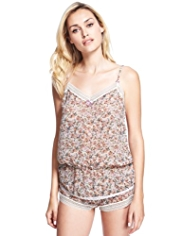 Limited Collection Floral Camisole & Shorts Set