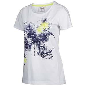 Chiemsee Damen T-Shirt Top Gemma, 1060015, White, Gr. XS
