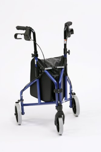 Déambulateur à 3 pieds ultraléger en aluminium Drive Medical