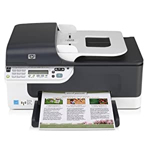 HP OfficeJet J4680 All-in-One Wireless Printer