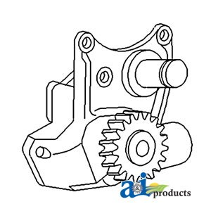 A & I Products Pump, Oil (W/ A4.203 Or Ad4.203 Perkins Diesel Eng) Replacemen...