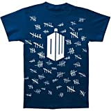 Ripple Junction Mens Doctor Who Tally Marks T-Shirt