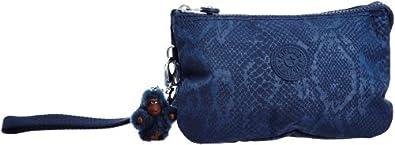 Kipling Women's Creativity XL Wristlet K15155 Blue Snake