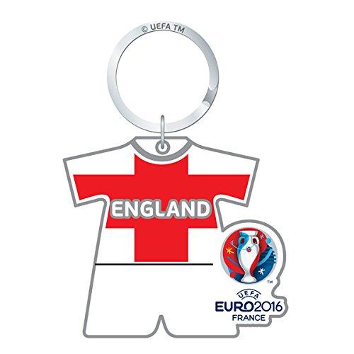 UEFA Euro 2016-Portachiavi ufficiale Country Team, plastica,  - Inghilterra FC, Keyring