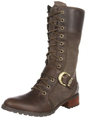 Timberland Women's Bethel Buckle Olive Side Zip