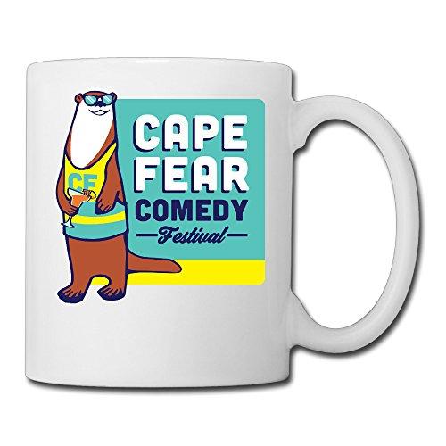 Ceramic Unisex 2016 Cape Fear Comedy Festival Papa MugPapa Mug 11oz Printed On Both Sides