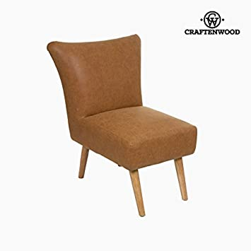 Craften Wood - Retro vintage leather armchair - Vintage Collection by Craftenwood - bb_S0103937