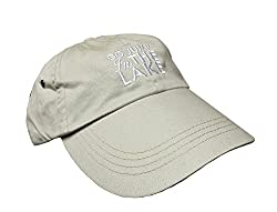 Go Jump in the Lake® Hat- LOW Profile- KHAKI