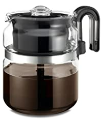 Medelco 8 Cup Glass Stovetop Percolator