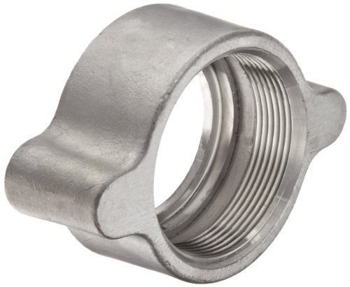 Dixon RB17 Stainless Steel Boss Fitting, Wing Nut for 1-1/4