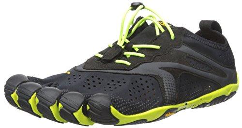 Vibram FiveFingersBikila Evo - Scarpe Running uomo , Nero (Black (Black/Yellow)), 43
