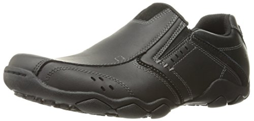 skechers-diameter-valen-black-mens-shoes-size-8-uk