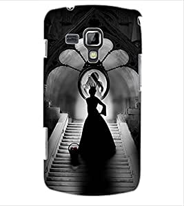 ColourCraft Angel in Castle Design Back Case Cover for SAMSUNG GALAXY S DUOS 2 S7582