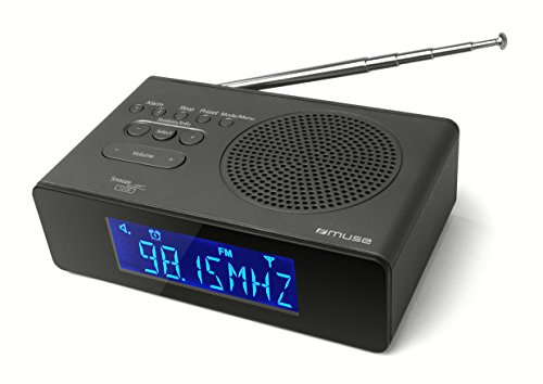 M-195 CDB Radiowecker mit DAB+/ RDS schwarz