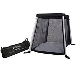 Phil And Teds Traveller Travel Cot Black Amazon Co Uk Baby