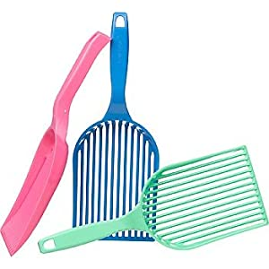 Litter-Lifter Kitty Litter Scoop for Cats Assorted Color