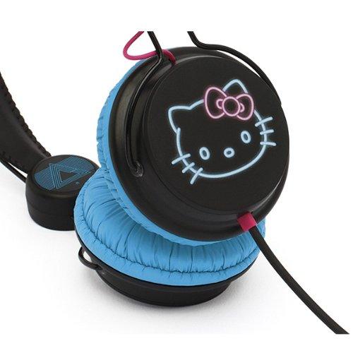 Hello Kitty ハロー キティー Headphone Night Lifeの写真02。おしゃれなヘッドホンをおすすめ-HEADMAN(ヘッドマン)-