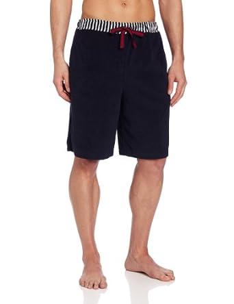 Majestic International Men's Port Of Capri Solid Short With Stripe Waist, Navy, Large