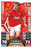 Match Attax Extra 2013/2014 Michael Carrick Game Changer 13/14