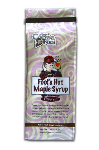 The Coffee Fool Drip Grind Coffee, Fool's Hot Maple Syrup Strong, 12 Ounce (Sumatra Hot Sauce compare prices)