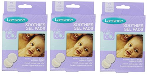 Find Bargain Lansinoh Soothies Gel Pads, 2 Count (Pack of 3)