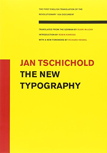 New Typography (Weimar and Now: German Cultural Criticism (Paperback))