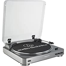 Audio Technica AT-PL60USB Fully Automatic Belt Driven Turntable with USB Port