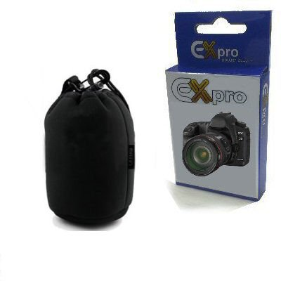 Ex-Pro® Soft Neoprene Lens Pouch Case Bag 95mm X 150mm (Small)