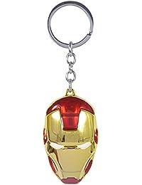 MM Star Wars V SuperMaVampire Marvel Movie Comics Avengers Iron Man Metal Mask Pendent Key Ring Key Chainn/SuperGirl (Man Of Steel Style) 3D Stainless Steel Petite Pendant KEY CHAIN
