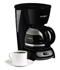 Mr. Coffee TF5 4-Cup Switch Coffeemaker, Black