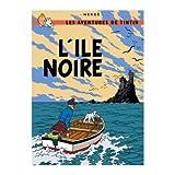Tintin Tintin Poster - L'ile Noire (The Black Island)