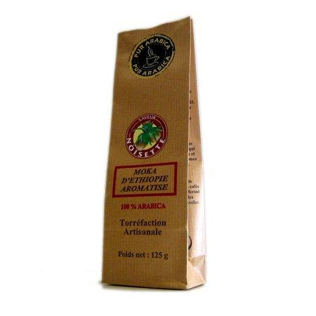 Le Temps des Cerises - Café saveur noisette 125 g moulu filtre - 125 g moulu filtre (cafetiére)