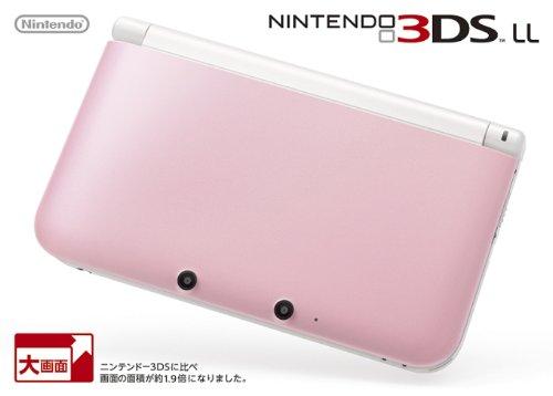 ニンテンドー3DS LL ピンクXホワイト