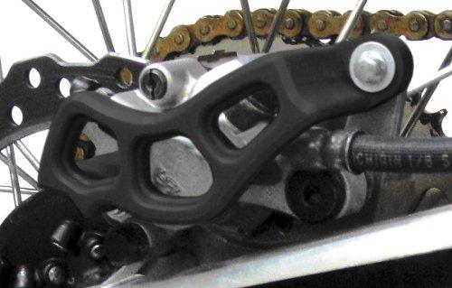T.M. Designworks Rear Brake Caliper Plastic Guard - Black Rbg-Hon-Bk