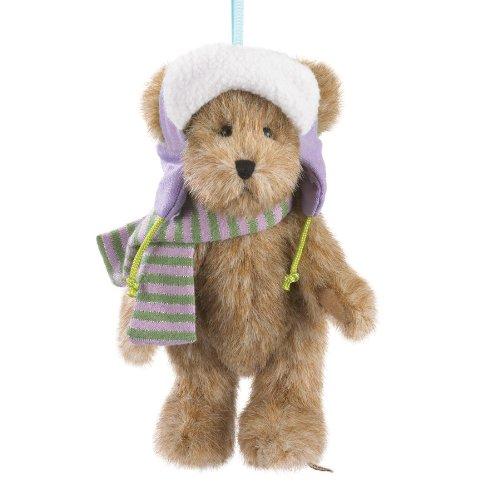 Boyds Plush Ho Winter Wonder Bear Ornament