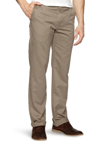Dockers D1 Attk Straight Men's Trousers Cedar Ash W29 INXL32 IN