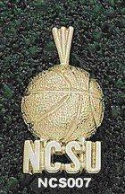 "North Carolina State ""Ncsu"" Basketball Sterling Silver Charm/Pendant"