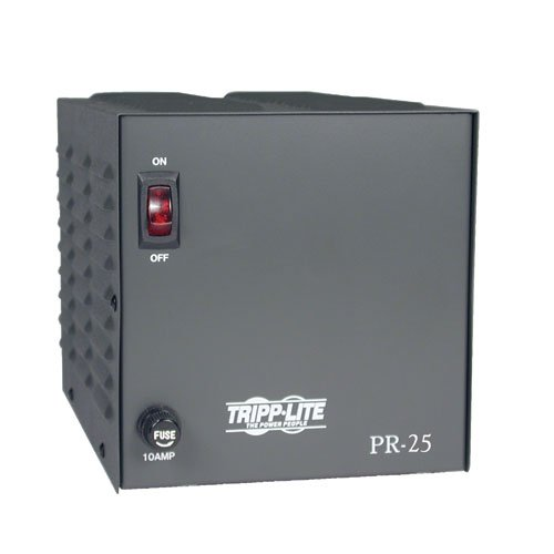 Tripp Lite Pr25 Dc Power Supply 25A 120V Ac Input To 13.8V Dc Output Taa Gsa