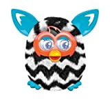 Furby Boom Interactive Toy - Black and White Zig Zag Stripes