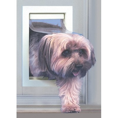 Ideal Pet Products Fast Fit Patio Door for Pets, Small, Mill (Glass Patio Door Dog Door compare prices)