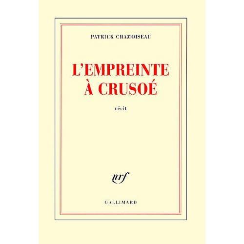 L'Empreinte à Crusoé (cover)