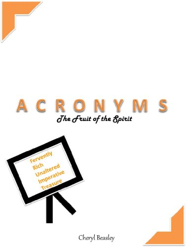 Amazon.com: Acronyms: The Fruit of the Spirit eBook: Cheryl Beasley: Kindle Store