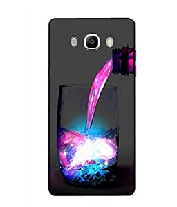 Case Cover Abstract Printed Colorful Soft Back Cover For SAMSUNG Galaxy On8