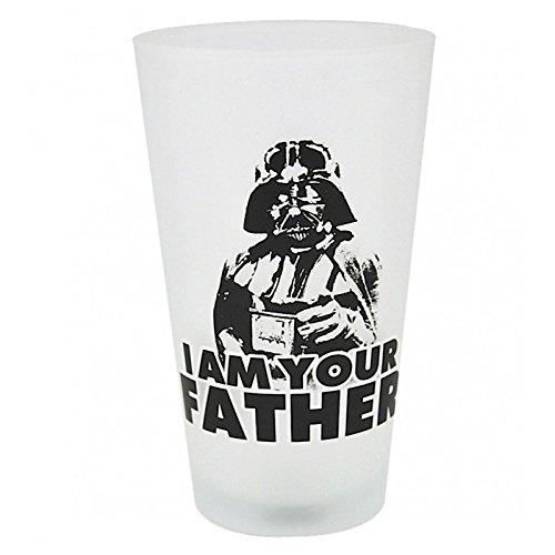 Bicchiere Dart Fener - Sono tuo padre - bicchiere Guerre stellari - Star Wars - Darth Vader - I Am Your Father