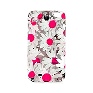 Ebby Pink Floral Premium Printed Case For Samsung Note 2