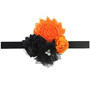 Kingfansion 1PC Kids Baby Girls Toddler Infant Halloween costume ball Hair Band Headband (1)