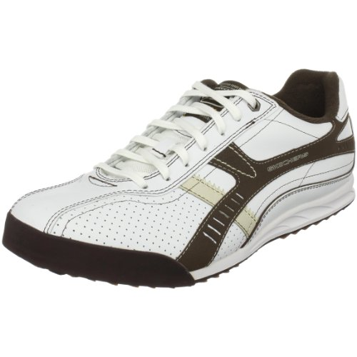 Skechers Men's Ascoli Piceno Sneaker  White UK 9