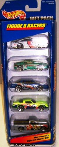 1997 Mattel Hot Wheels Gift Pack- 5 Figure 8 Racers Cars