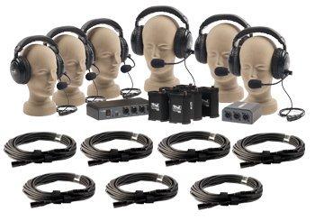 Portacom 6 Headset Pkg With Ca